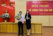 Đồng chí Đặng Văn Minh giữ chức Phó Bí thư Tỉnh ủy Quảng Ngãi