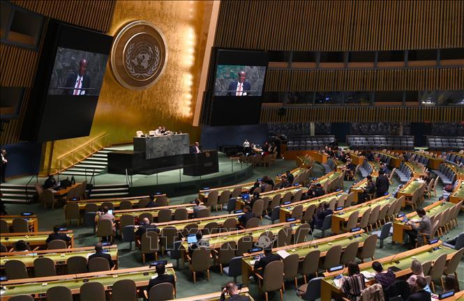 Đại hội đồng Liên hợp quốc thông qua nghị quyết về ứng phó dịch COVID-19