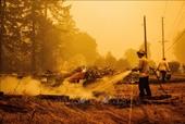 Mỹ Cháy rừng tiếp tục lan rộng tại bang Oregon