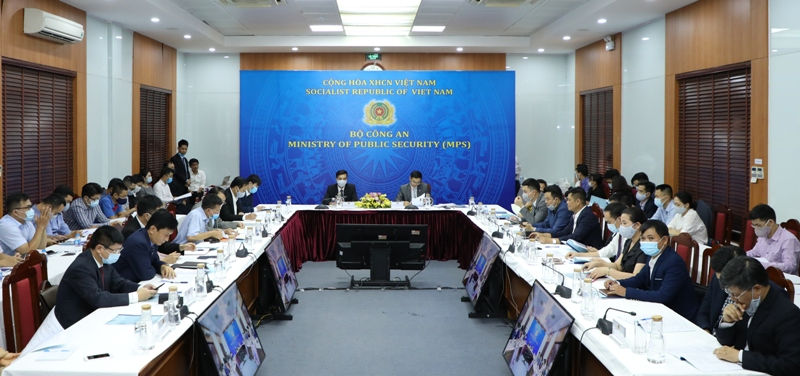 Bộ Công an tham dự Hội nghị quốc tế trực tuyến về an ninh nội địa và an ninh mạng