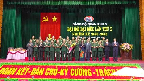 Đại hội Đảng bộ Quân khu 5 lần thứ X thành công tốt đẹp