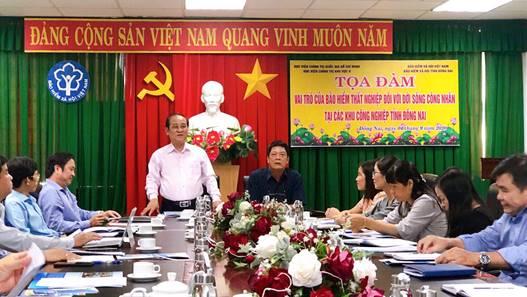 Vai trò của Bảo hiểm thất nghiệp đối với đời sống công nhân tại các khu công nghiệp tỉnh Đồng Nai