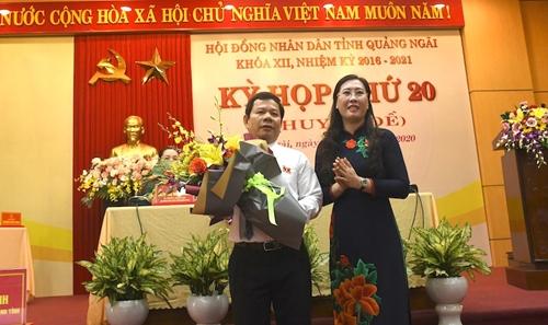 Đồng chí Đặng Văn Minh được bầu giữ chức Chủ tịch UBND tỉnh Quảng Ngãi