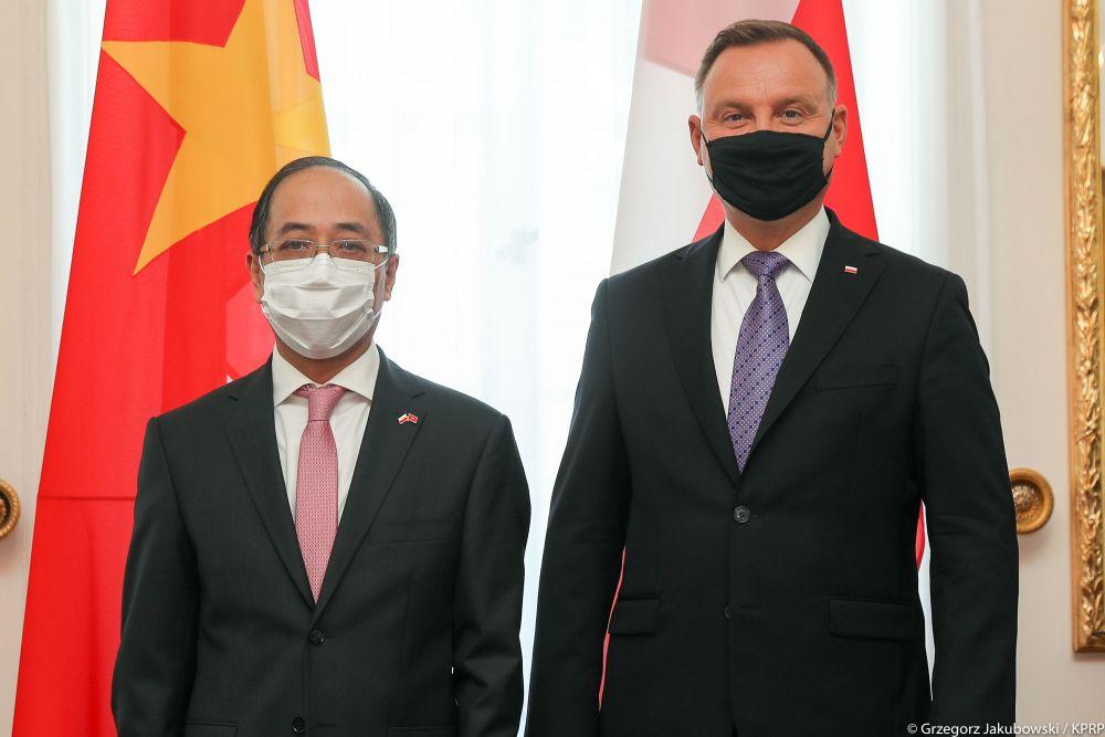 Thúc đẩy quan hệ hợp tác nhiều mặt giữa Việt Nam và Ba Lan