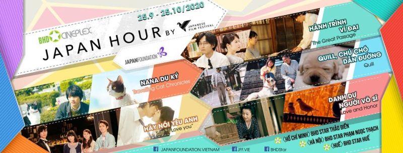 Tái khởi động tuần lễ phim Nhật Bản năm 2020