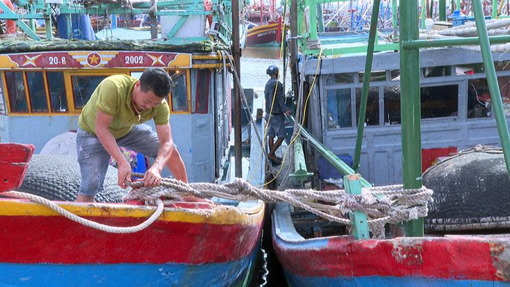 Ứng phó với bão số 5 Các tỉnh ven biển từ Hà Tĩnh đến Quảng Ngãi đã ra lệnh cấm biển