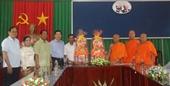 Lãnh đạo Ủy ban Dân tộc chúc mừng Lễ Sene Đôl-ta của đồng bào Khmer