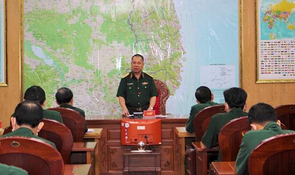 Quân khu 5 triển khai quyết liệt các biện pháp phòng, chống bão
