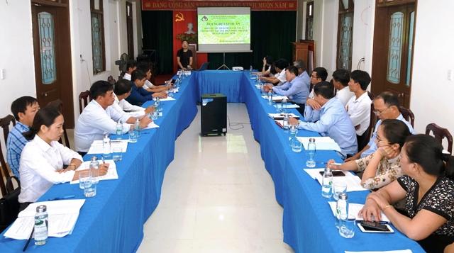 Tập huấn nghiệp vụ quản lý nguồn vốn tín dụng chính sách cho Chủ tịch UBND cấp xã tại địa bàn Quảng Ninh, Quảng Bình