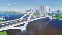 Cần Thơ Khởi công xây dựng cầu Trần Hoàng Na