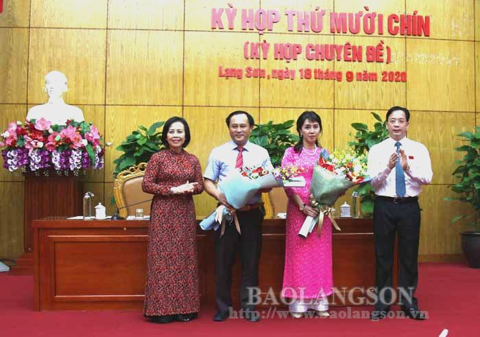 Lạng Sơn bầu bổ sung 2 Phó Chủ tịch UBND tỉnh