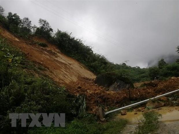 Mưa lớn khiến các vùng núi Lào Cai chuyển rét hại