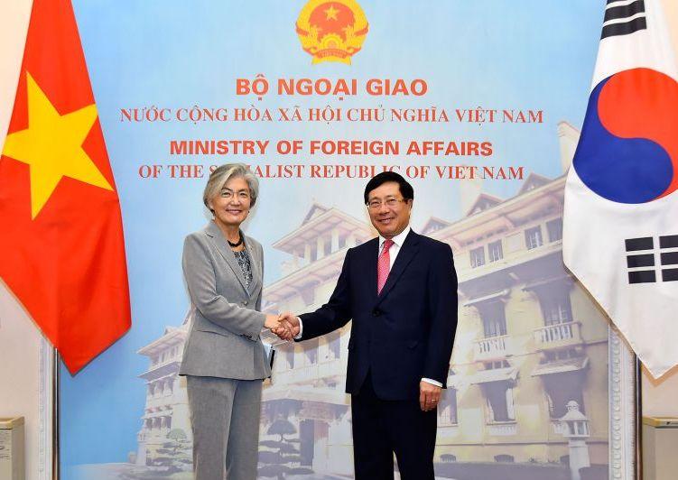 Phát triển quan hệ đối tác hợp tác chiến lược Việt Nam – Hàn Quốc
