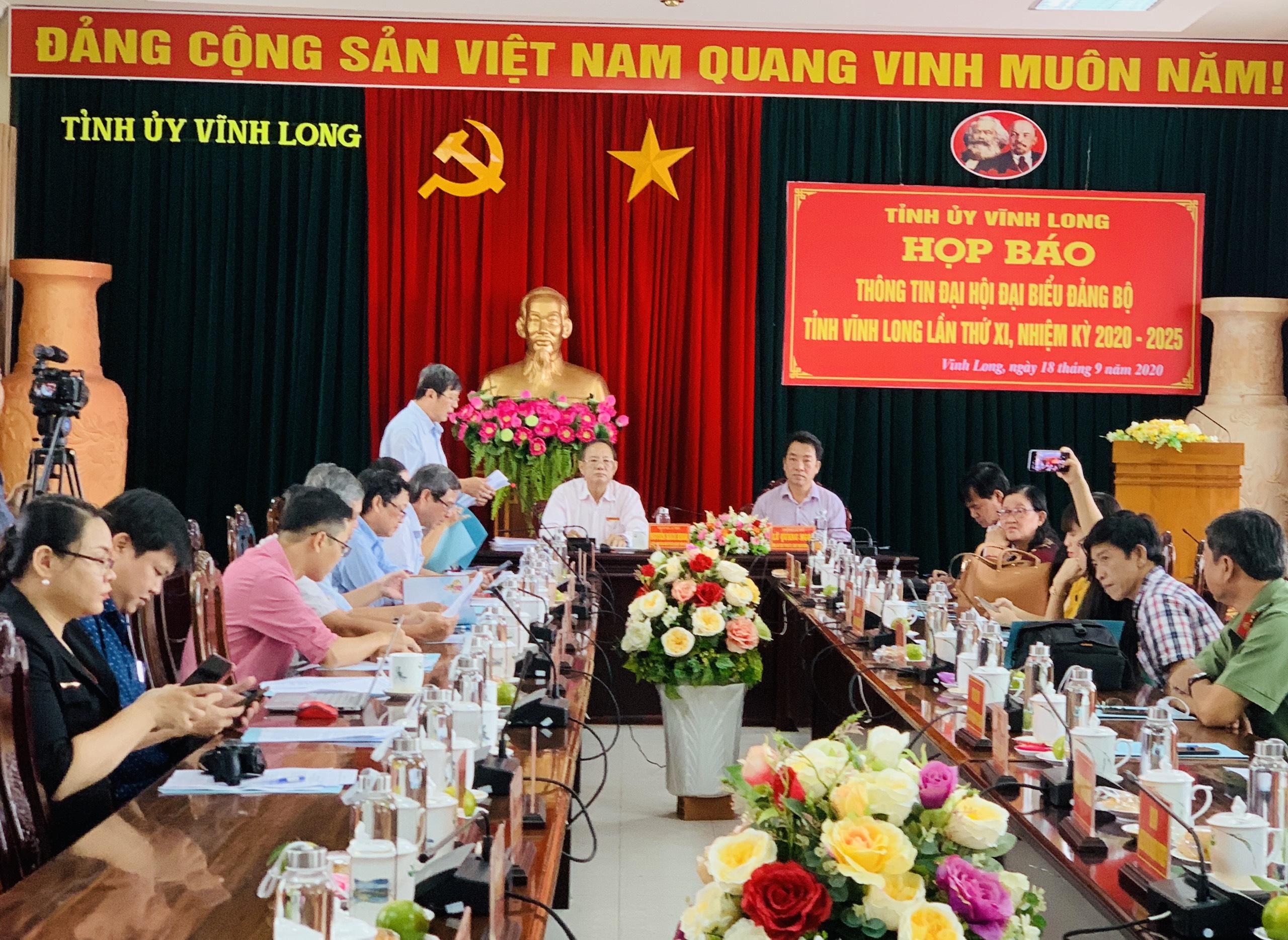 Đại hội đại biểu Đảng bộ tỉnh Vĩnh Long sẽ diễn ra từ 23 - 26 9