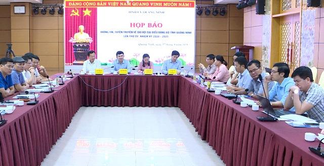 Quảng Ninh Sẵn sàng Đại hội đại biểu Đảng bộ tỉnh lần thứ XV