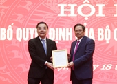 Đồng chí Chu Ngọc Anh giữ chức Phó Bí thư Thành uỷ Hà Nội