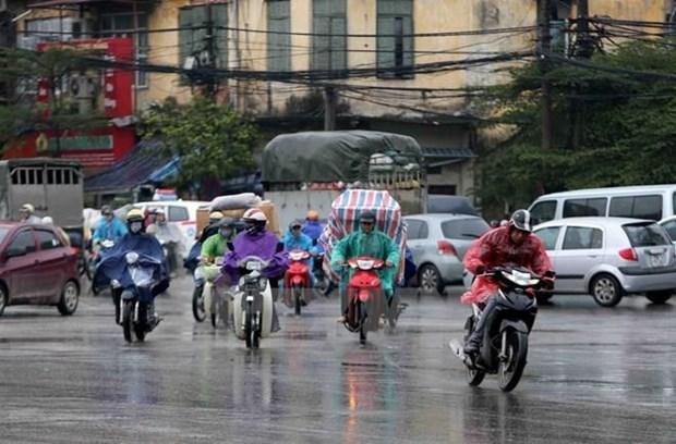 Bão số 5 suy yếu, mưa trên diện rộng nhiều nơi