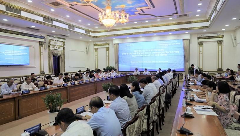 Các bộ, ngành Trung ương góp ý vào Đề án chính quyền đô thị ở TP Hồ Chí Minh