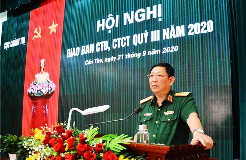 Quân khu 9 giao ban công tác đảng, công tác chính trị quý III năm 2020