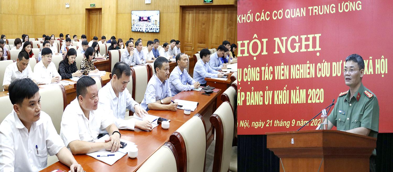 Nâng cao nghiệp vụ dư luận xã hội cho cán bộ Khối các cơ quan Trung ương