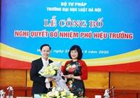 Đại học Luật Hà Nội có tân Phó Hiệu trưởng