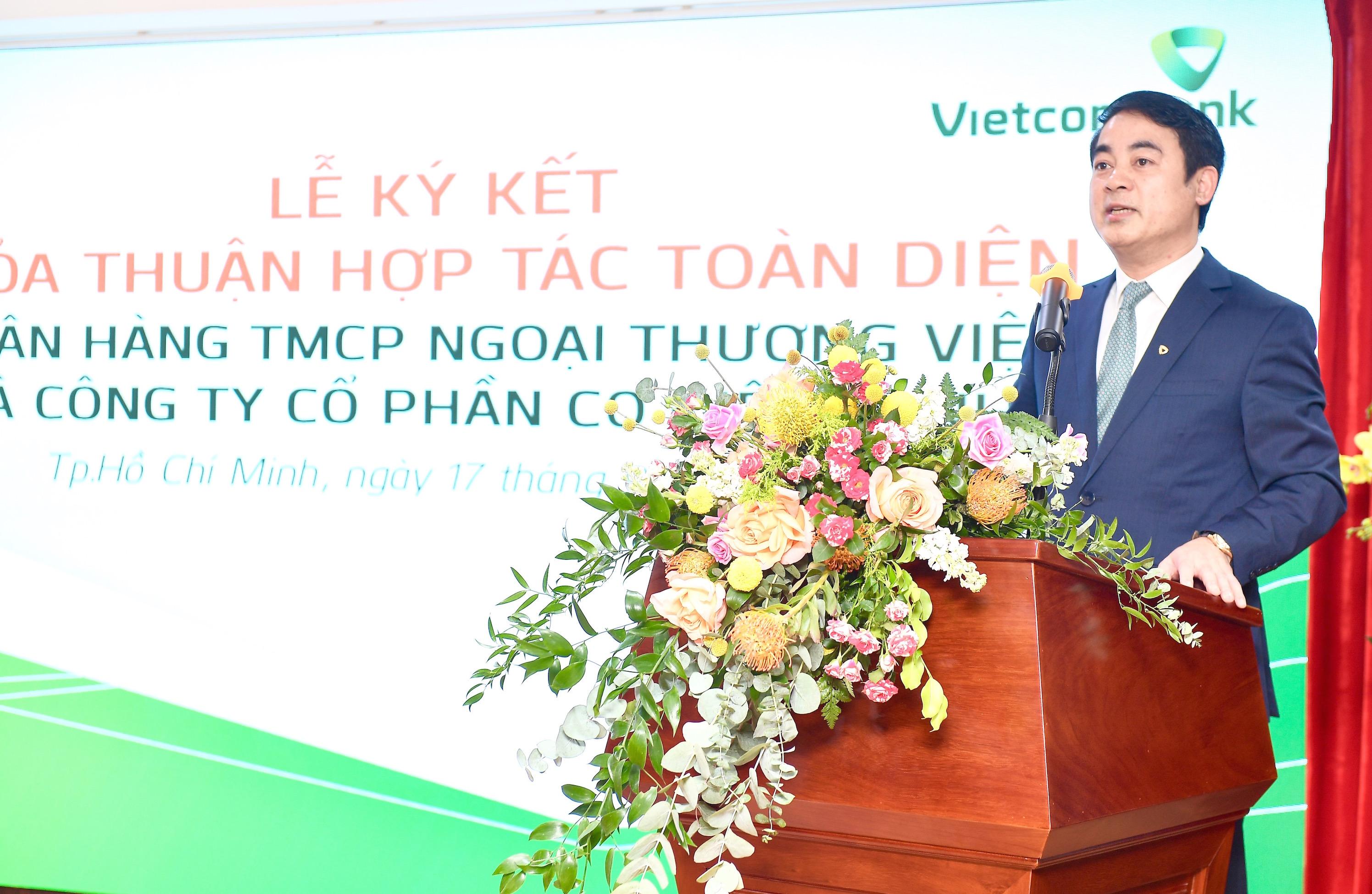 Vietcombank ký kết Thoả thuận Hợp tác toàn diện với Công ty Cổ phần Cơ Điện Lạnh