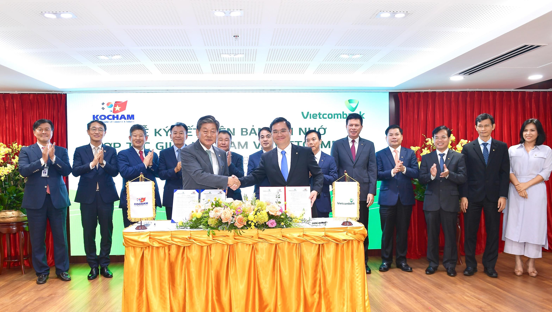 Ký kết Biên bản ghi nhớ hợp tác giữa Vietcombank và Kocham