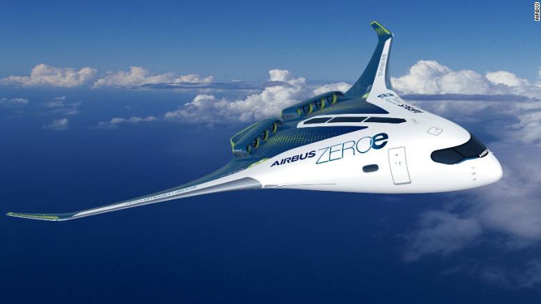 Airbus giới thiệu 3 mẫu thiết kế máy bay thương mại không khí thải