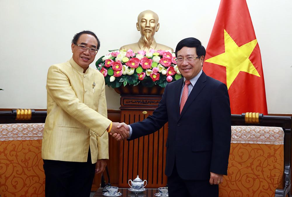 Củng cố mối quan hệ Đối tác Chiến lược Tăng cường Việt Nam -Thái Lan