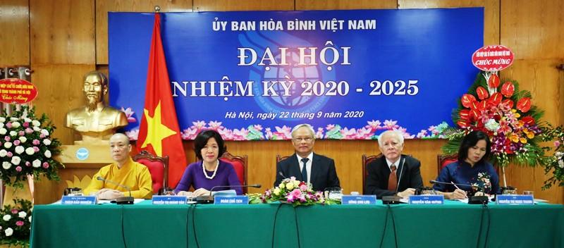 Ông Uông Chu Lưu tái đắc cử Chủ tịch Ủy ban Hòa bình Việt Nam nhiệm kỳ 2020 – 2025