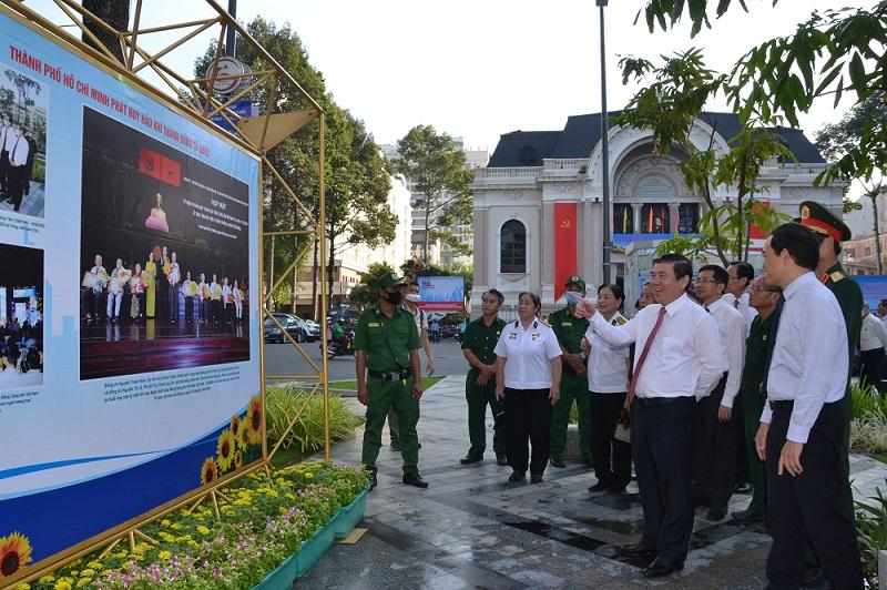 Triển lãm ảnh kỷ niệm 75 năm Ngày Nam Bộ Kháng chiến