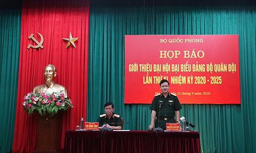 Đại hội Đại biểu Đảng bộ Quân đội lần thứ XI diễn ra từ ngày 27-30 9