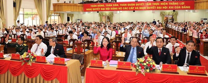 An Giang thảo luận, đóng góp vào các văn kiện trình Đại hội XIII của Đảng