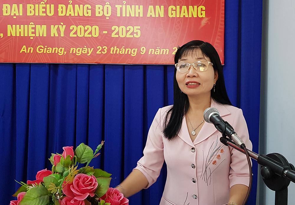 350 đại biểu tham dự Đại hội đại biểu Đảng bộ tỉnh An Giang lần thứ XI