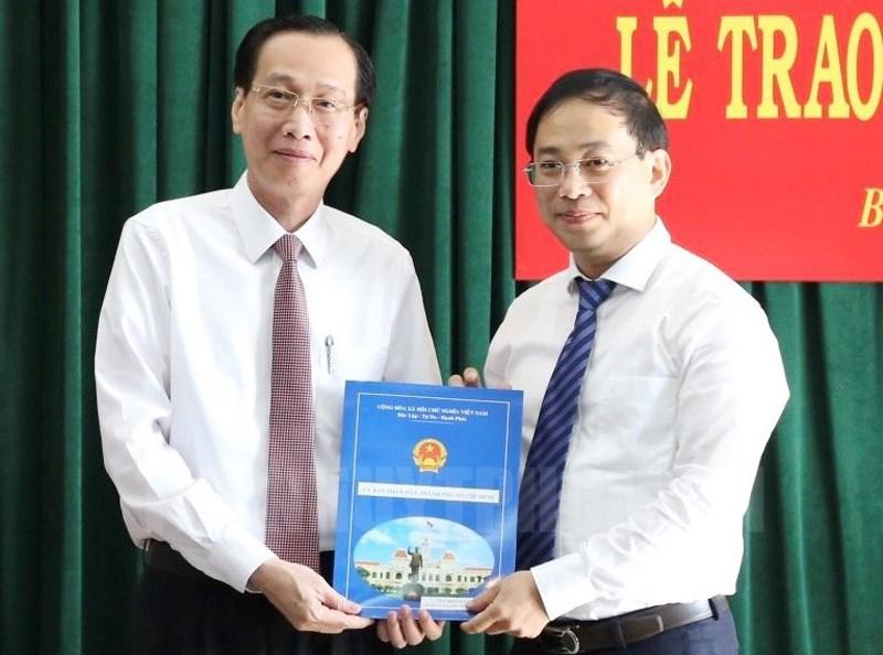 TP Hồ Chí Minh UBND quận 4 và huyện Bình Chánh có Chủ tịch mới