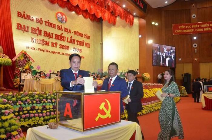 48 đồng chí được bầu vào Ban Chấp hành Đảng bộ tỉnh Bà Rịa- Vũng Tàu khóa VII