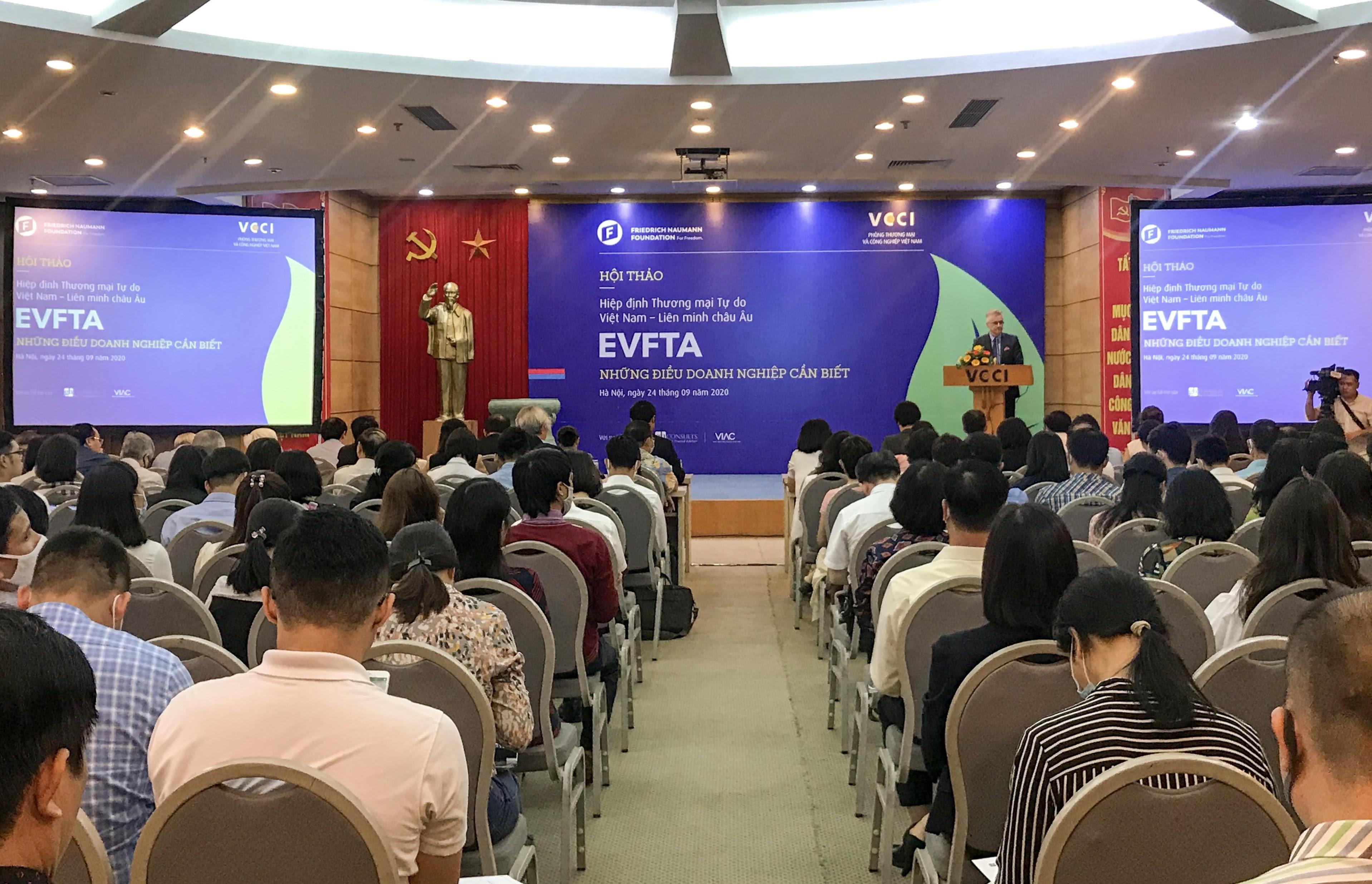 Doanh nghiệp cần hiểu biết đầy đủ về các cam kết EVFTA