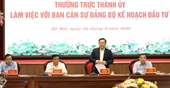 Hà Nội - Bộ Kế hoạch và Đầu tư Tăng cường phối hợp quy hoạch, thu hút đầu tư