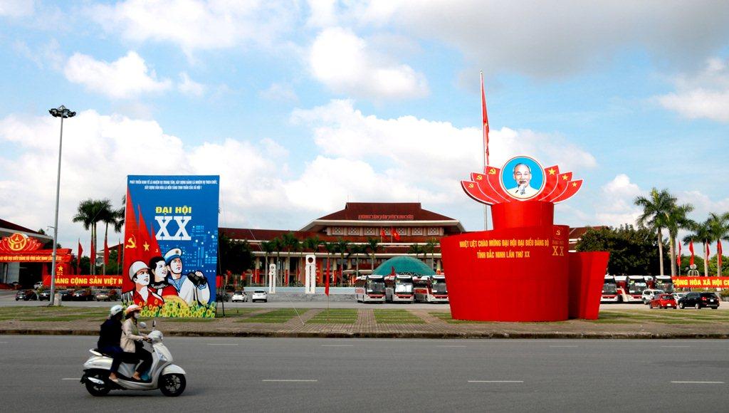 Bắc Ninh rực rỡ sắc màu chào mừng Đại hội Đảng bộ tỉnh