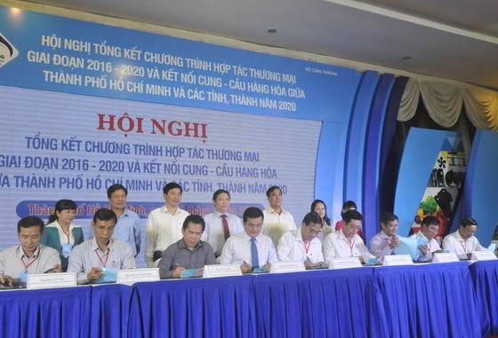 Đẩy mạnh hợp tác thương mại giữa TP Hồ Chí Minh và các địa phương