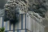 Cháy nổ, khói bốc ngùn ngụt tại trung tâm thí nghiệm Huawei ở Trung Quốc