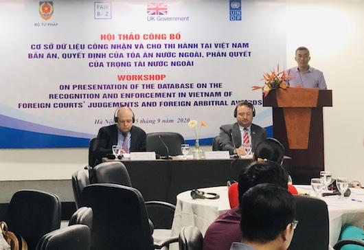 Nâng cao hiệu quả công tác công nhận, cho thi hành tại Việt Nam bản án của TA nước ngoài