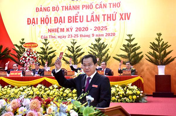 Đồng chí Lê Quang Mạnh giữ chức Bí thư Thành ủy Cần Thơ