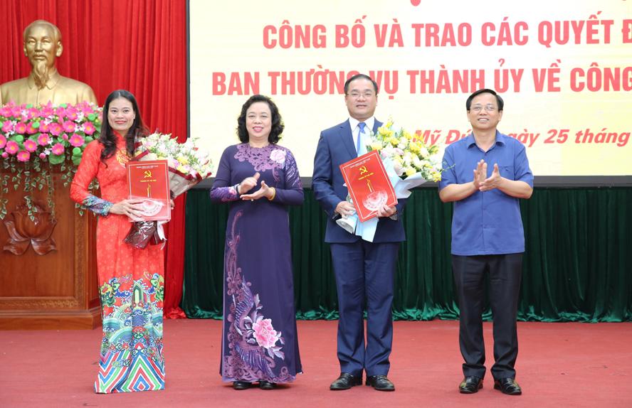 Hà Nội có Giám đốc Sở Lao động - Thương binh và Xã hội mới