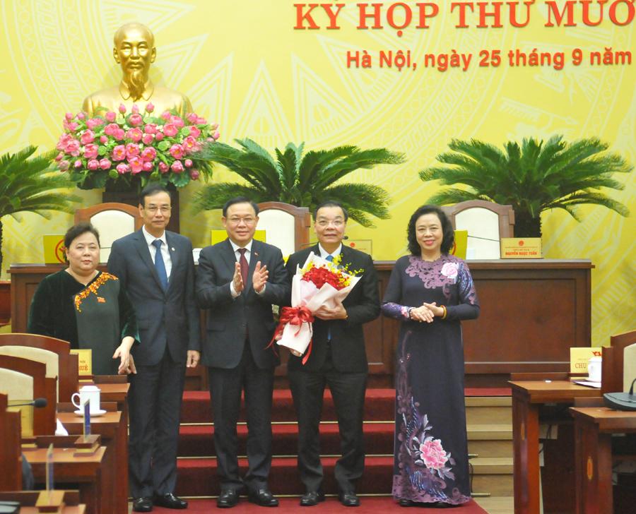 Đồng chí Chu Ngọc Anh giữ chức Chủ tịch UBND TP Hà Nội