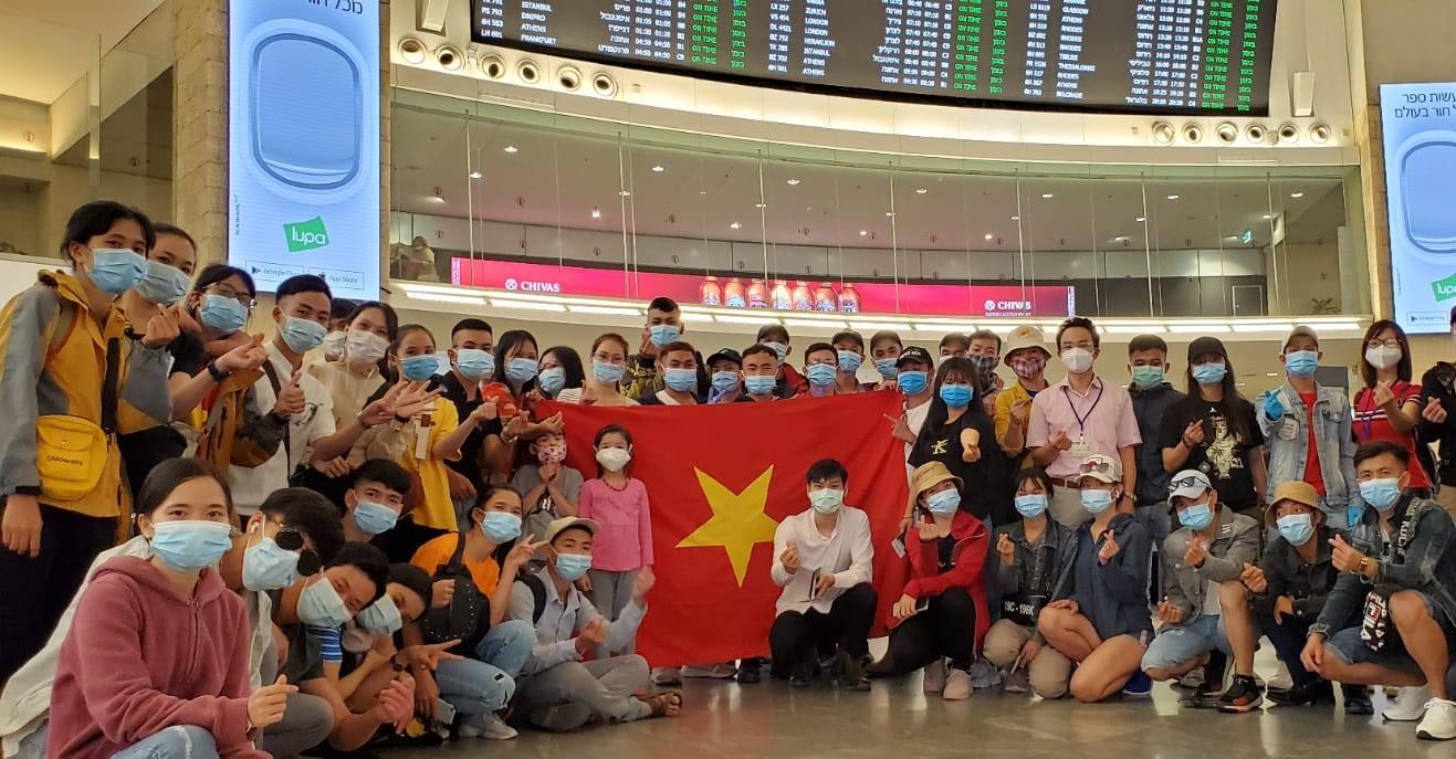 Đưa công dân Việt Nam từ Israel về nước