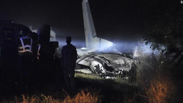 Rơi máy bay quân sự tại Ukraine Nhiều học viên trường sĩ quan thiệt mạng