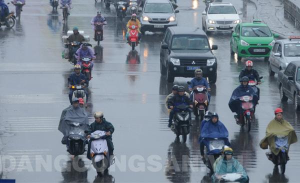 Bắc Bộ có nơi mưa to đến rất to, đề phòng lũ quét, sạt lở đất