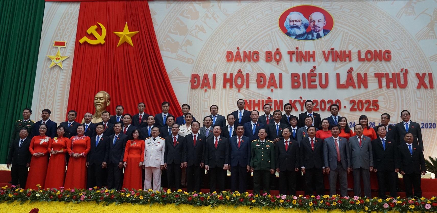 Bế mạc Đại hội đại biểu Đảng bộ tỉnh Vĩnh Long lần thứ XI