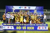 Sông Lam Nghệ An giành chúc vô địch Giải bóng đá vô địch U17 Quốc gia